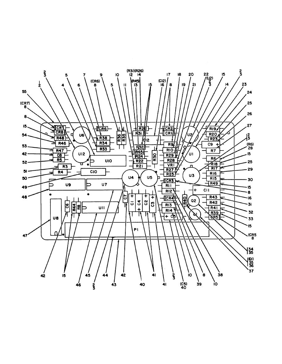 Circuit Card Assembly : Figure system monitor circuit card assembly a